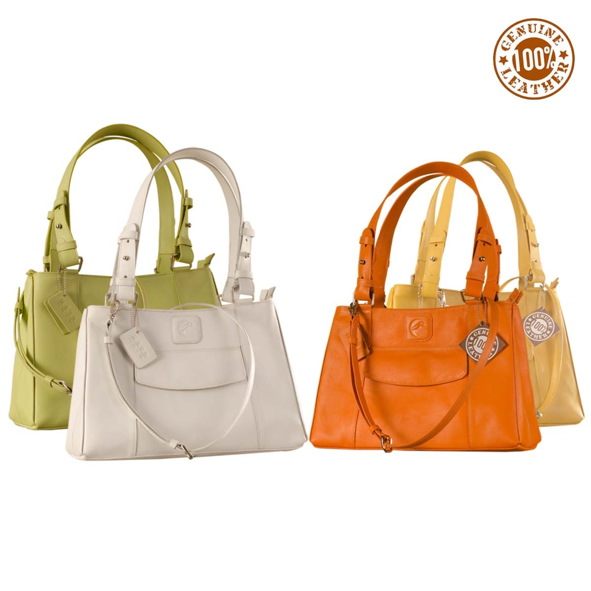 ... Maya Collection YA824v1 by eZeeBags ladies leather handbag - stands  tall in style   function. Zoom 472d85eb76
