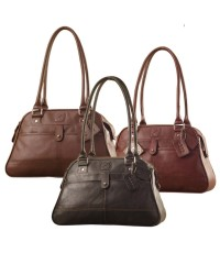 eZeeBags Maya Collection Ladies Handbag - YA825v1. Large compartment, front & rear outside pockets & lots of thoughtful features.