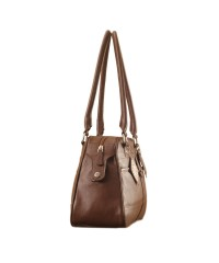 eZeeBags Maya Collection Ladies Handbag - YA825v1. Large compartment, front & rear outside pockets & lots of thoughtful features - Brown.