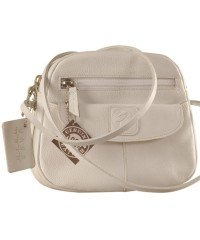 Nothing like a Maya Teen genuine leather sling bag - to enhance your style & confidence. eZeeBags YT842v1 - White.