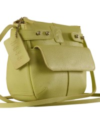 eZeeBags MayaTeens YT844v1 - Style, function & elegance rolled into this beautiful form factor. 100% genuine leather in 12 beautiful colors - Green.
