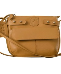 eZeeBags MayaTeens YT844v1 - Style, function & elegance rolled into this beautiful form factor. 100% genuine leather in 12 beautiful colors - Tan.