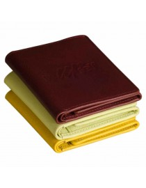 Internationally acclaimed trifold design - simple, sleek & functional, genuine leather - eZeeBags - BY022v1. In 12 colors.