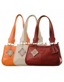 Genuine Leather Fashion Handbag eZeeBags YA818v1 - from the Maya Collection.