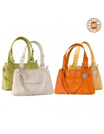 Dark, tall & handsome, Maya Collection YA824v1 by eZeeBags ladies leather handbag - stands tall in style & function.