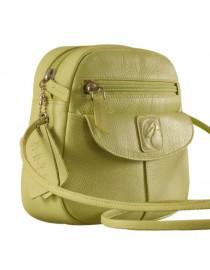 Nothing like a Maya Teen genuine leather sling bag - to enhance your style & confidence. eZeeBags YT842v1 - Green.
