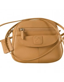 Nothing like a Maya Teen genuine leather sling bag - to enhance your style & confidence. eZeeBags YT842v1 - Tan.