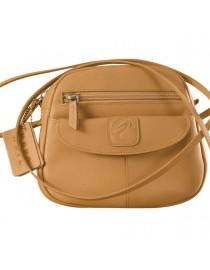 Nothing like a Maya Teen genuine leather sling bag - to enhance your style & confidence. eZeeBags YT842v1 - Tan.