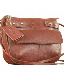 eZeeBags MayaTeens YT844v1 - Style, function & elegance rolled into this beautiful form factor. 100% genuine leather in 12 beautiful colors - Burgundy.