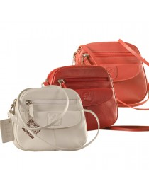 Nothing like a Maya Teen genuine leather sling bag - to enhance your style & confidence. eZeeBags YT842v1.