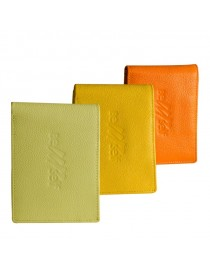 Classic 100% genuine leather coin pocket wallet eZeeBags - BY016v1 with coin pocket, passcase & more.